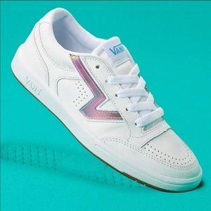 Vans Lowland Comfycush Sneakers: Rainbow White
